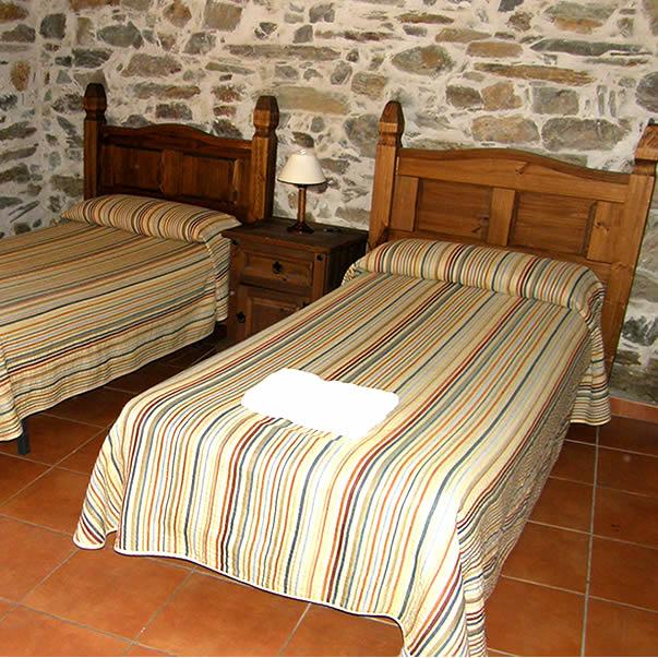 habitacion doble casa rural avila
