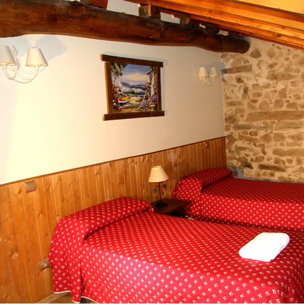 dormitorio bebe casa rural avila